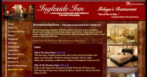Accomdoations at the Ingleside Inn